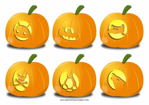 Pumpkin Carving Ideas for Halloween Android, Pinup Girl, Linux