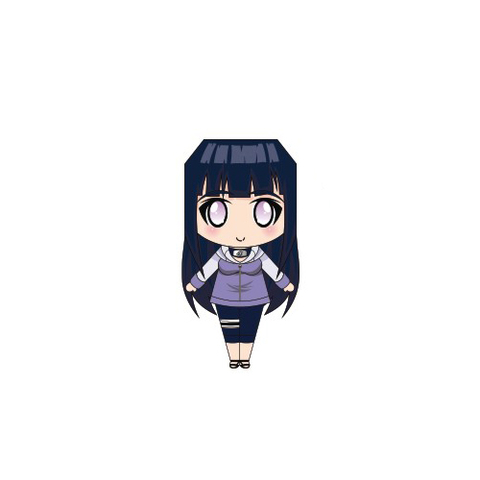 Hinata Paper Doll Template Free Printable Papercraft Templates - paper doll template