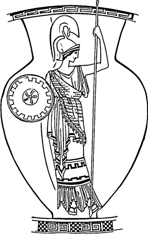 greek myths achilles 231x300 Ancient Greek Gods and Greek Heroes - new free coloring pages wonder woman