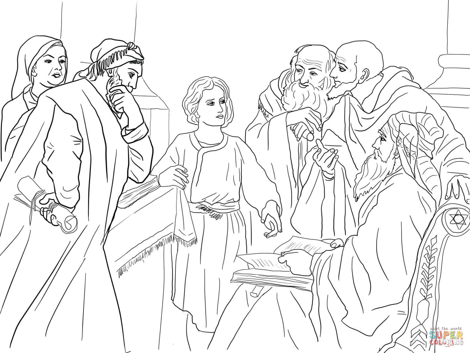 Color Pages Of Jesus - Eskayalitim