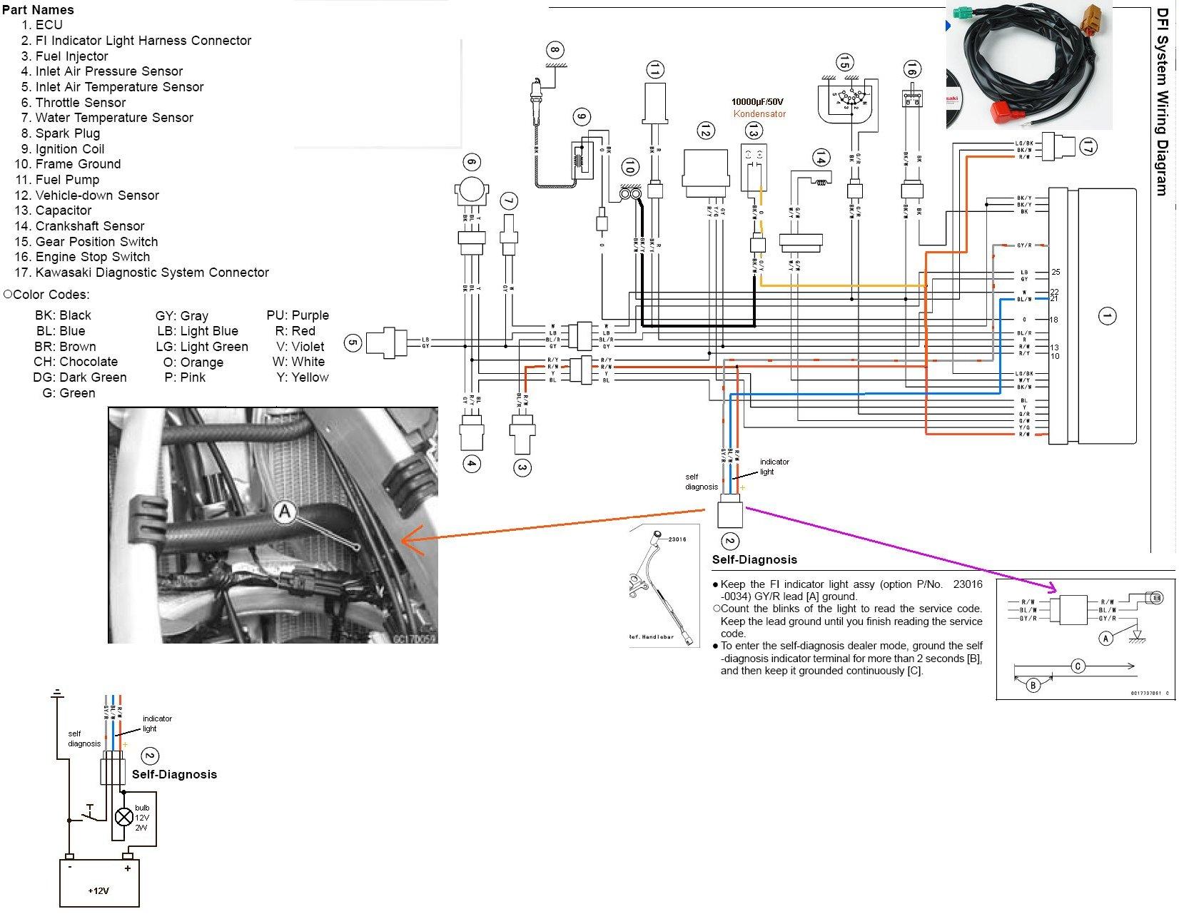 2009 kfx 450r wiring diagram