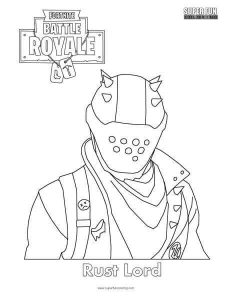Reaper Skin Fortnite Coloring Page Super Fun Coloring