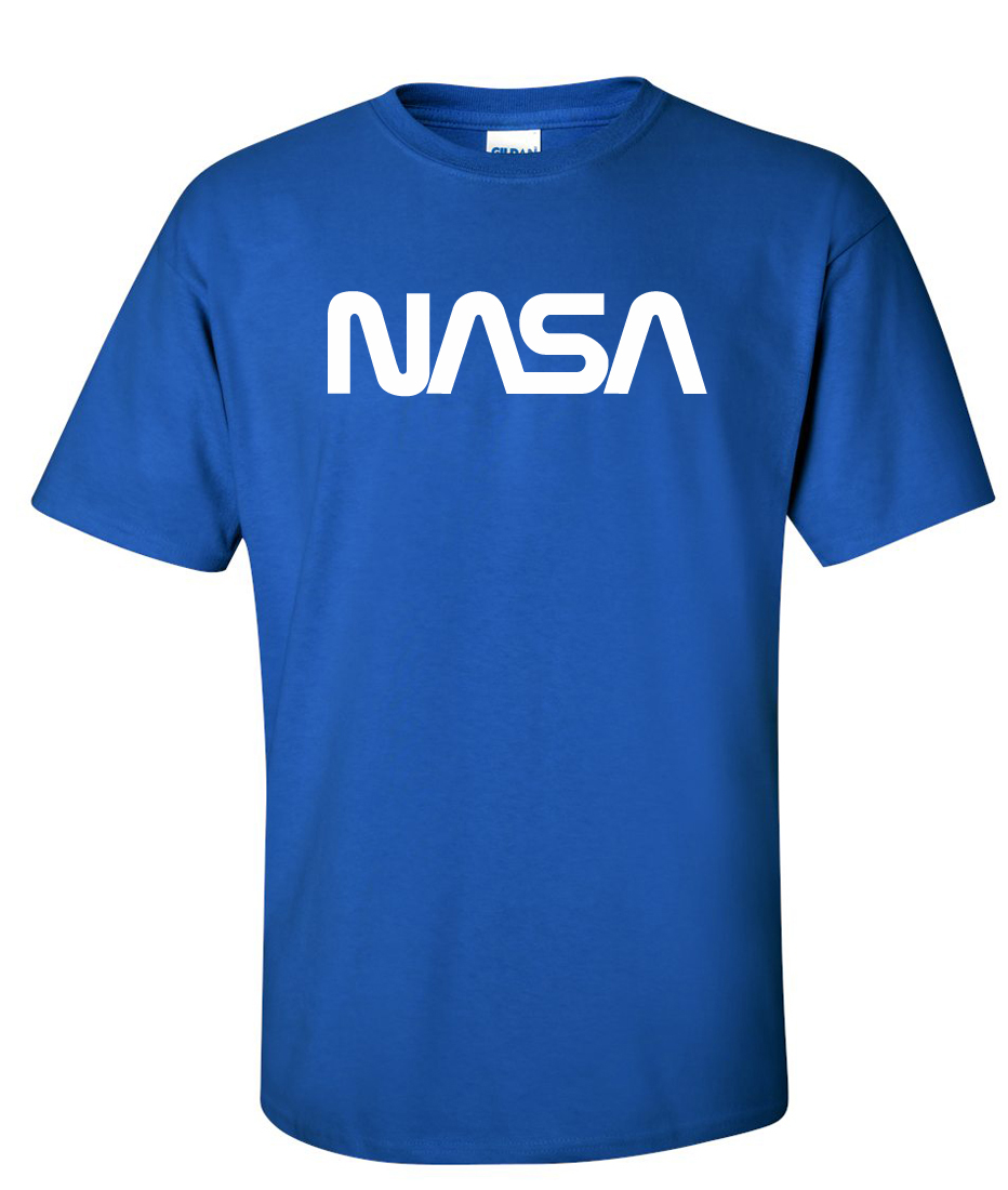 nasa national aeronautics space administration logo graphic t shirt http www. Black Bedroom Furniture Sets. Home Design Ideas
