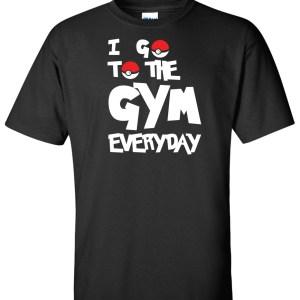 I go to gym everyday pokemon go black