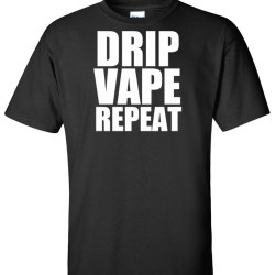 drip vape repeat black