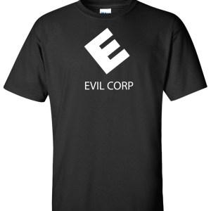 evil corp mr robot black
