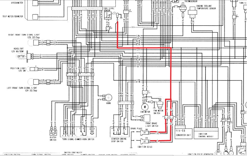 waste spark coil wiring diagram