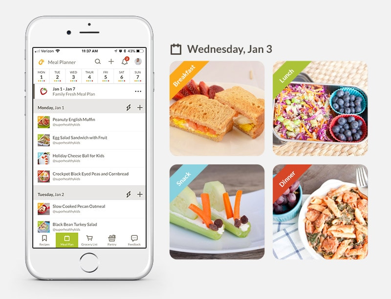 Top 10 Features of the Best Meal Planning App Healthy Ideas for Kids