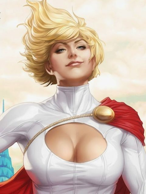 Dc Comics Power Girl Wallpaper Power Girl Kara Zor L Justice League Europe Superhero