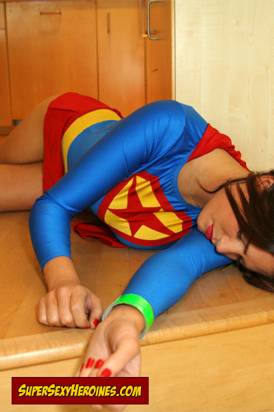 Supergirl weak and helpless