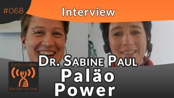 Evolution Radio Show Folge #068: Interview mit Dr. Sabine Paul
