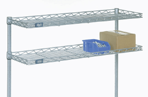 Nexel Wall Mount Shelving Wire Shelf Solid Shelves