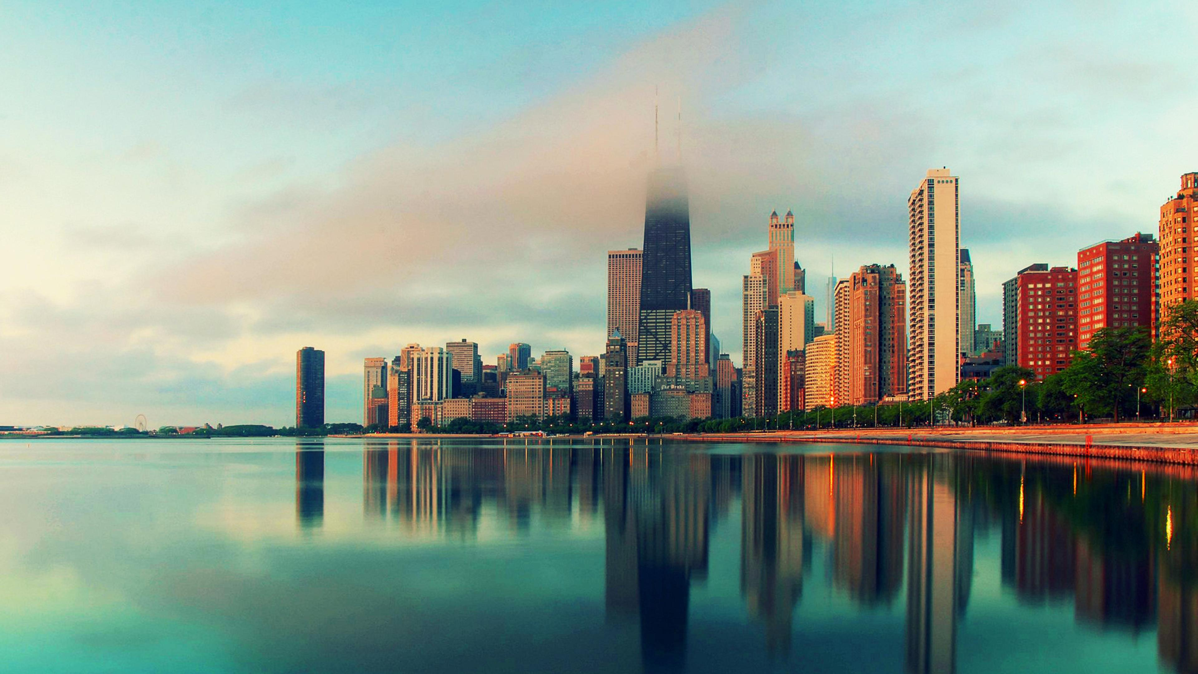 Army 3d Wallpaper City Of Chicago Hd Wallpaper Download 3840x2160