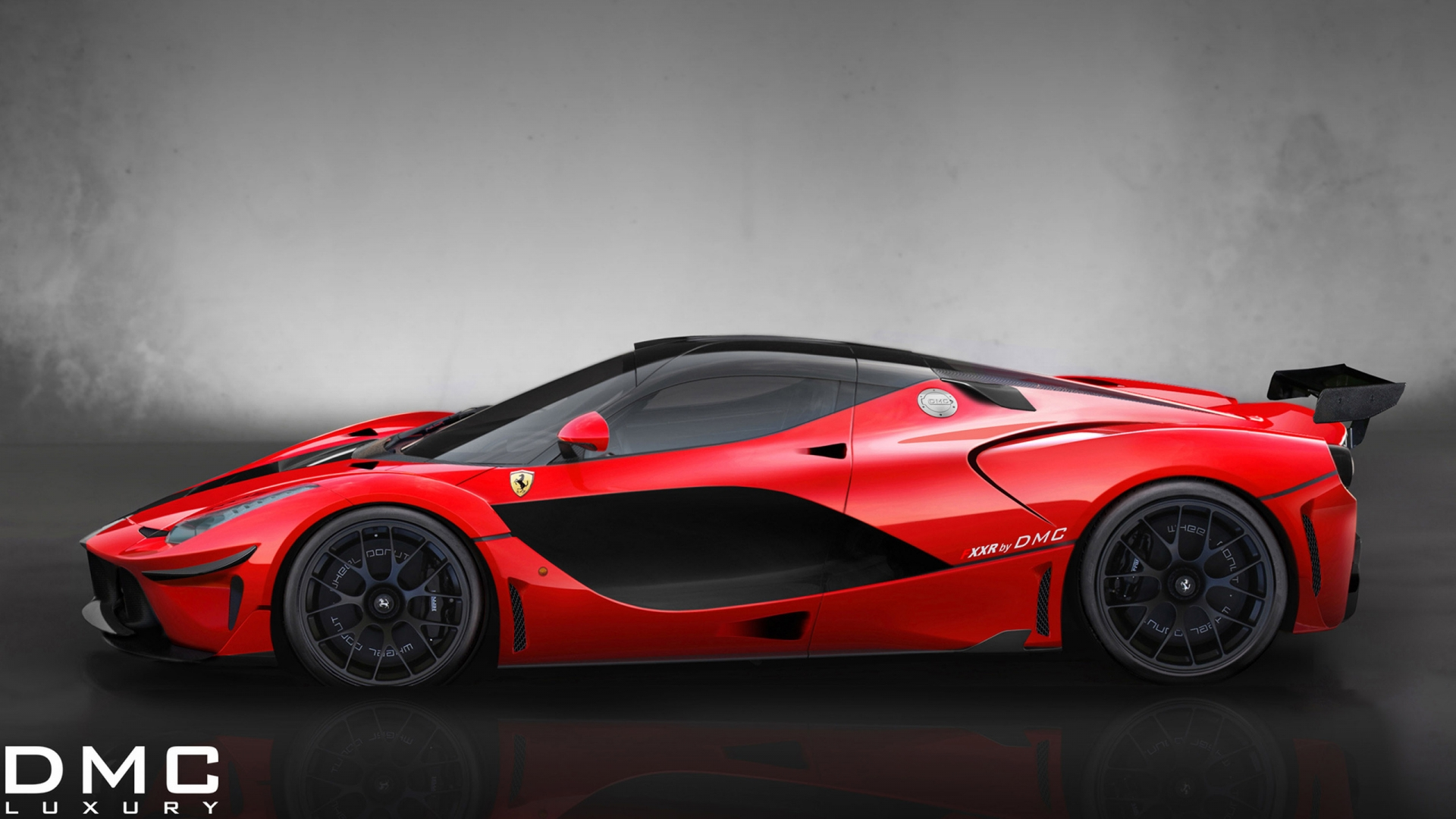 Cute Cartoon Birds Wallpapers Ferrari Fxxr Side Red Sport Car