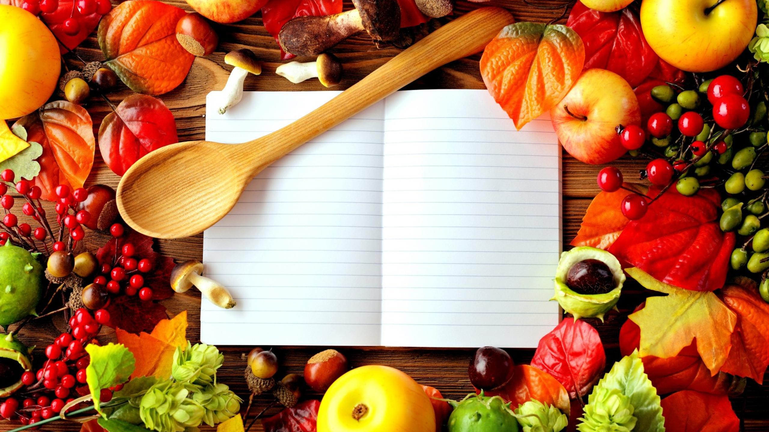 Fall Wallpaper Cute Your Secret Book With Food Recipes Wallpaper Download