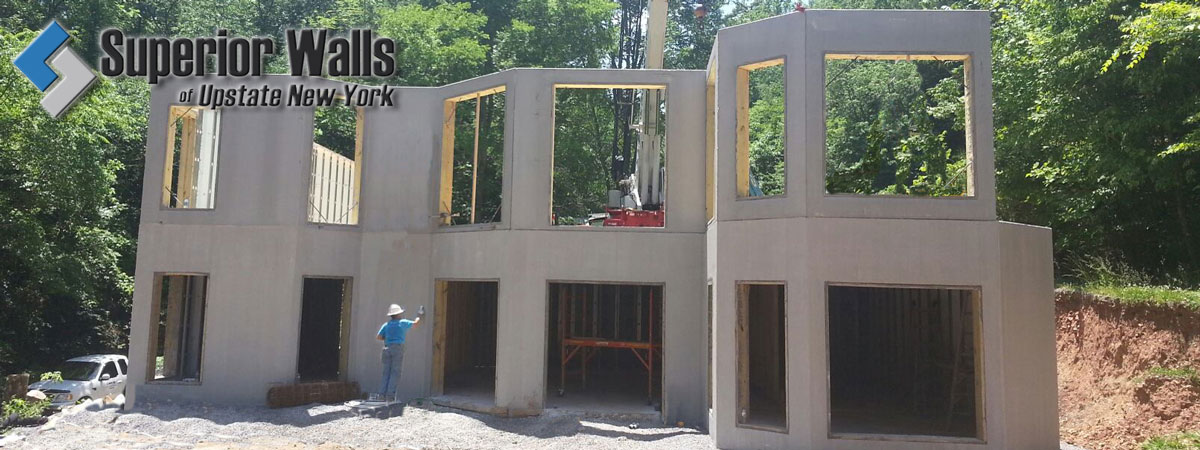 SUPERIOR WALLS NY PA \u2013 Superior Walls precast concrete walls for new - Concrete Wall Insulation