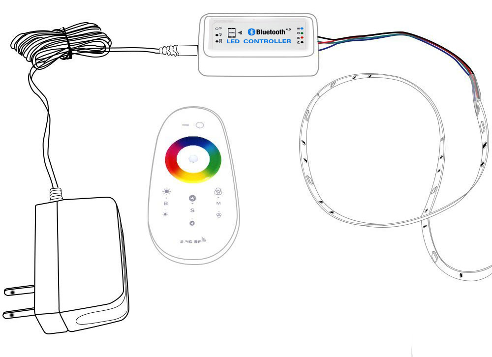 image rgb led controller schematic pc android iphone and