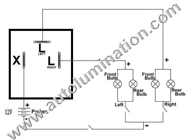 LED Flashers Resistors Load Equalizers Turn Signal Bulbs Fix