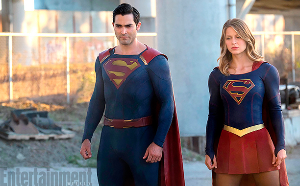 'Supergirl's' Tyler Hoechlin says his Superman won't be 'dark and brooding'