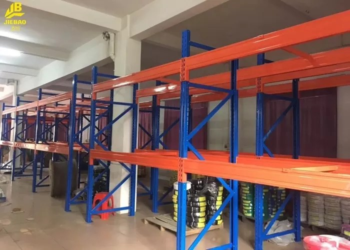 Pipe Storage Warehouse Pallet Racking With Upright Guard