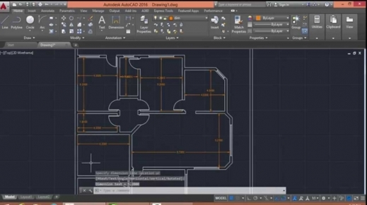 Outstanding Autocad 2016 Floor Plan Drawing Youtube Www 2d