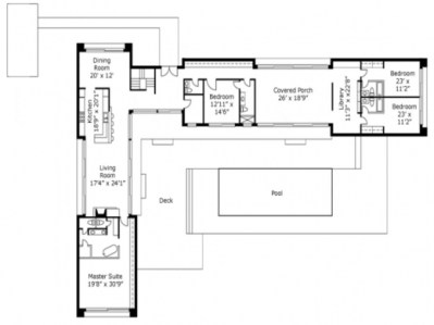 Best L Shaped Home Plans And Designs House Australia Craf ...