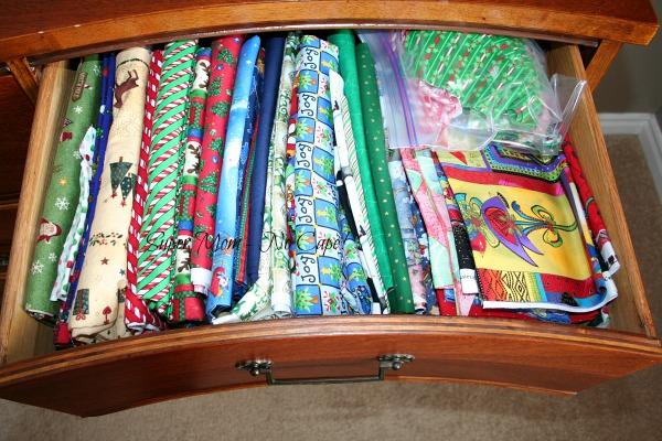 Fabric Dresser - drawer 7