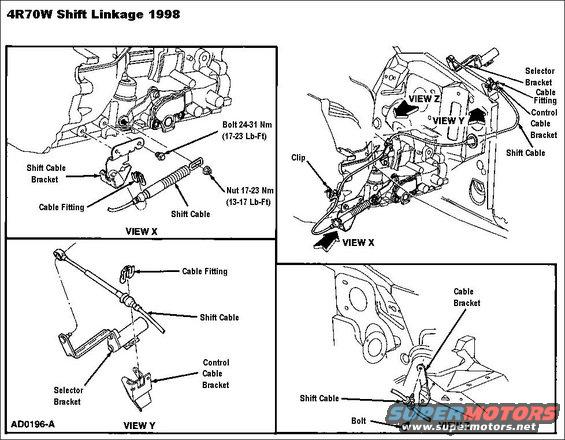 ford automatic transmission wiring diagram