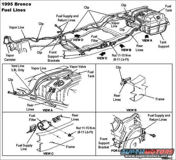 1998 mustang fuel filter