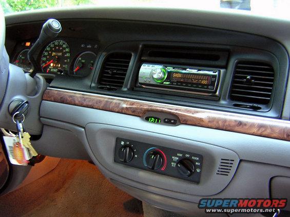 2000 Ford Crown Victoria (stealth) - SIRIUS Backstage Forum
