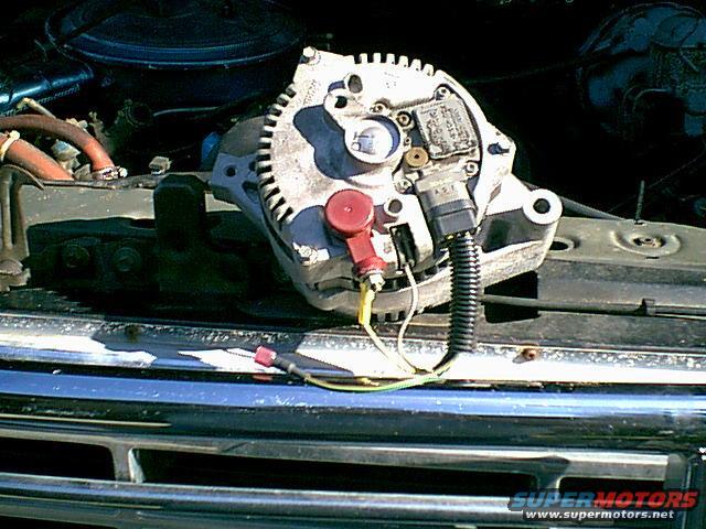 1983 Ford Bronco 3G Alternator Swap picture SuperMotorsnet