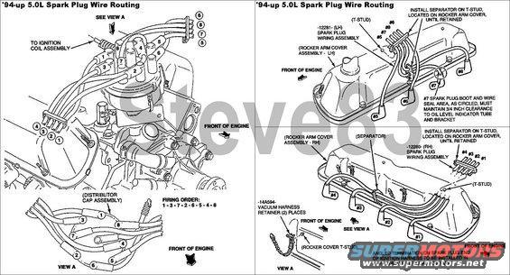 ford 302 plug wire diagram