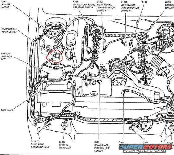 1998 mercury grand marquis fuse box diagram printable wiring diagram