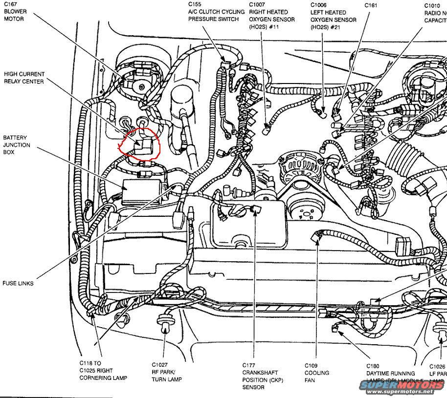 2003 ford mustang gt engine diagram