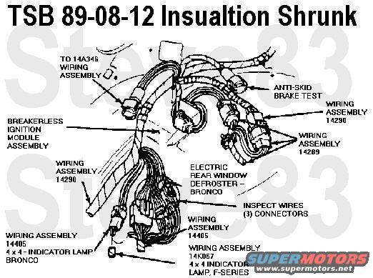 83 mustang engine wiring harness