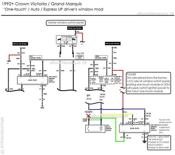 94 mercury grand marquis wiring diagram