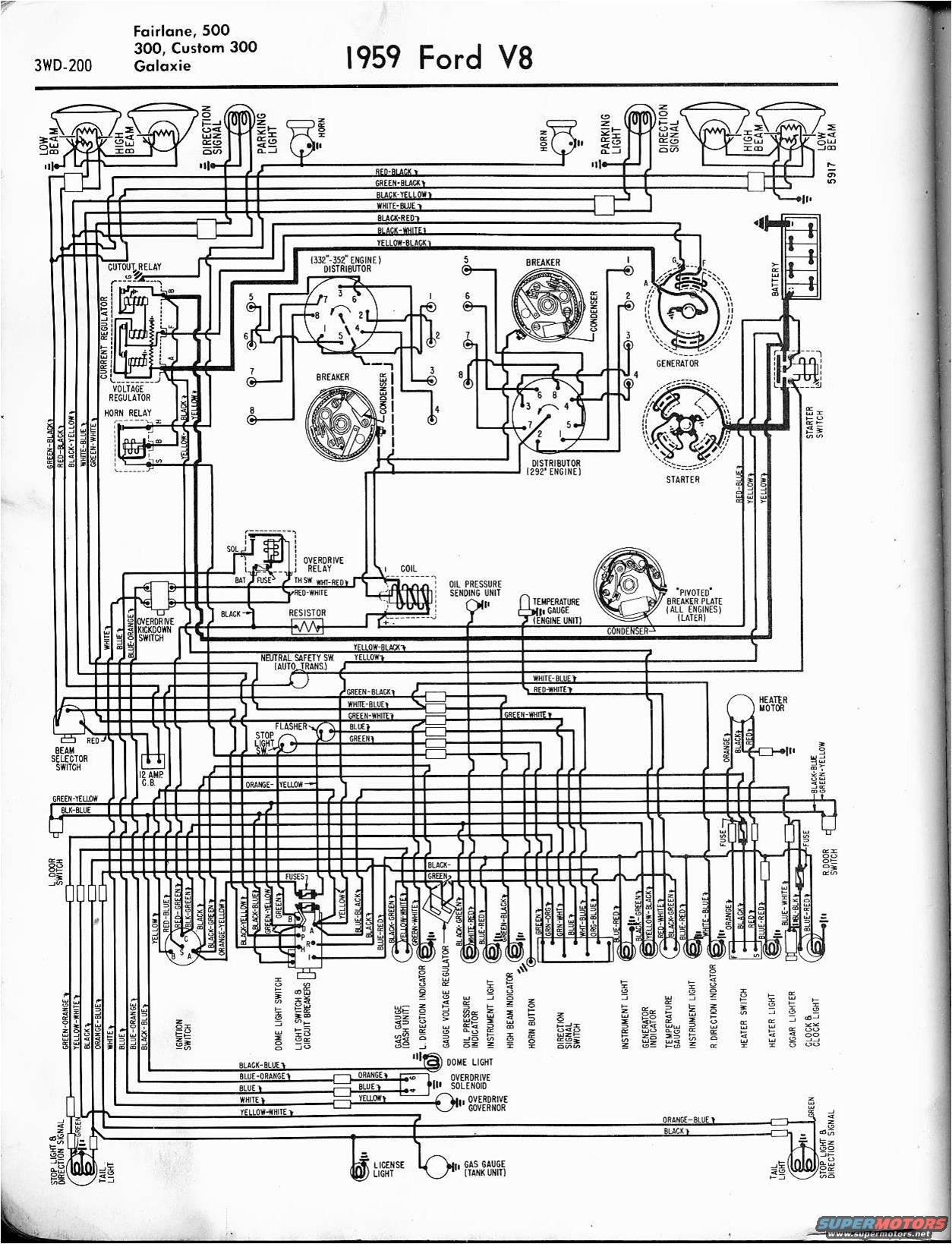 1959 ford ranchero wiring diagram