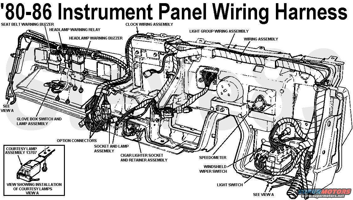 80 ford bronco wiring diagrams