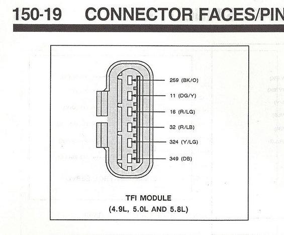 Ford Tfi Distributor Wiring Diagram Wiring Schematic Diagram
