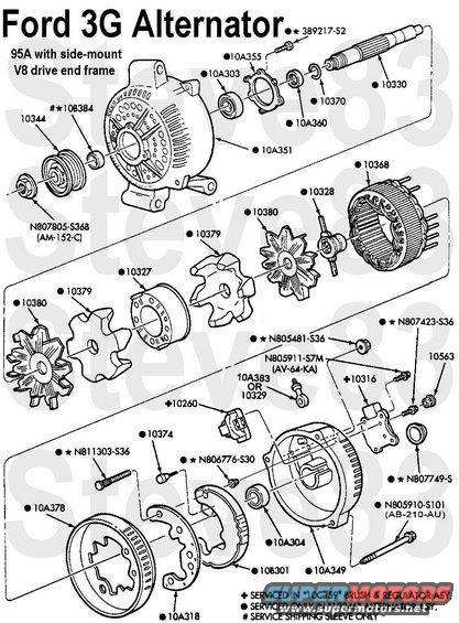 ford motorcraft alternator wiring diagram volvo penta marine