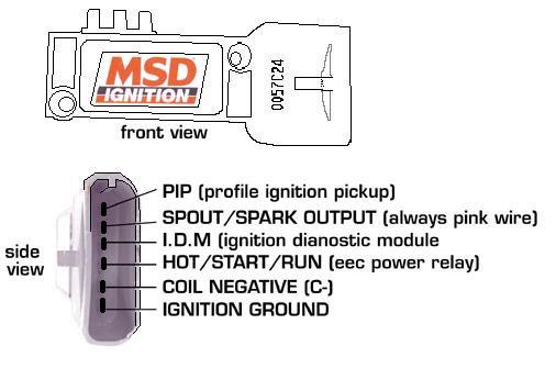 wiring diagram msd 8455
