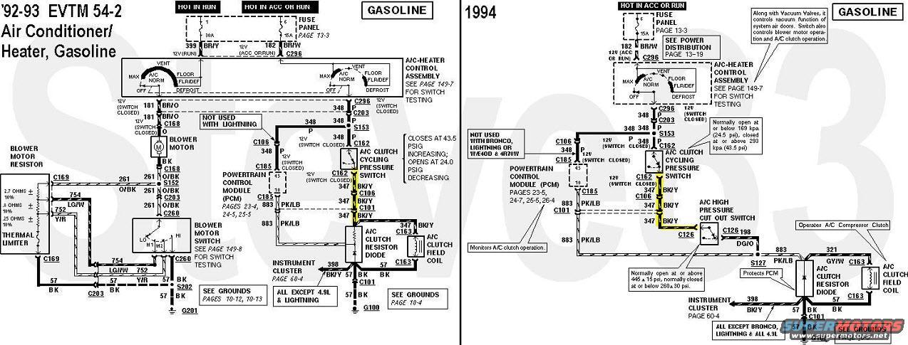 92 ford bronco wiring diagram wiring diagram schematic