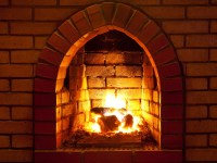 You Gotta Have Hearth  Cleaning the Brick Fireplace ...