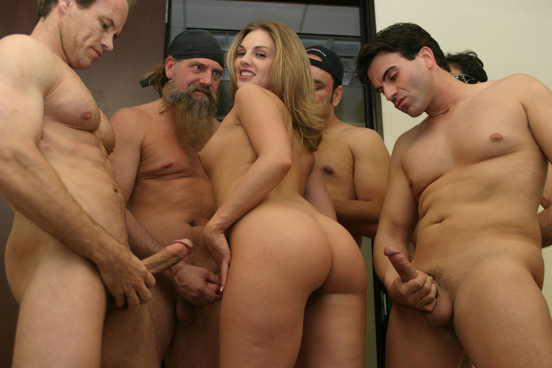 old men gangbang girl