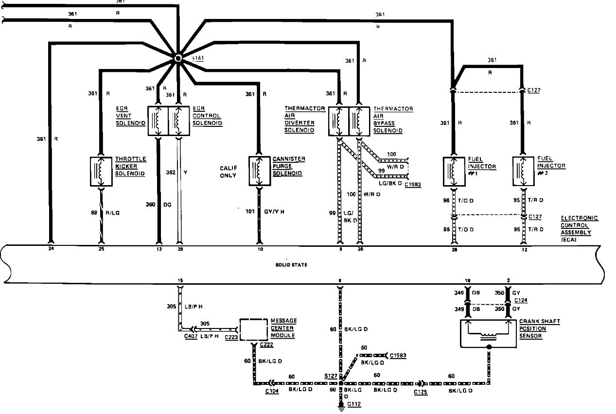 1995 lincoln continental wiring diagrams