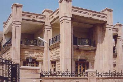 Stone Front Elevation Front elevation designs,jodhpur ...