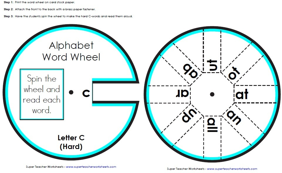 Phonics Worksheets Full List