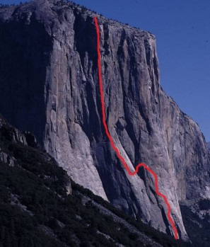 El Capitan - Salathe Wall 5.13b or 5.9 C2 - Yosemite Valley, California USA. Click to Enlarge