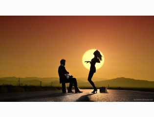 Love Girl Boy Wallpaper Girl Boy Sunset Hd Wallpapers