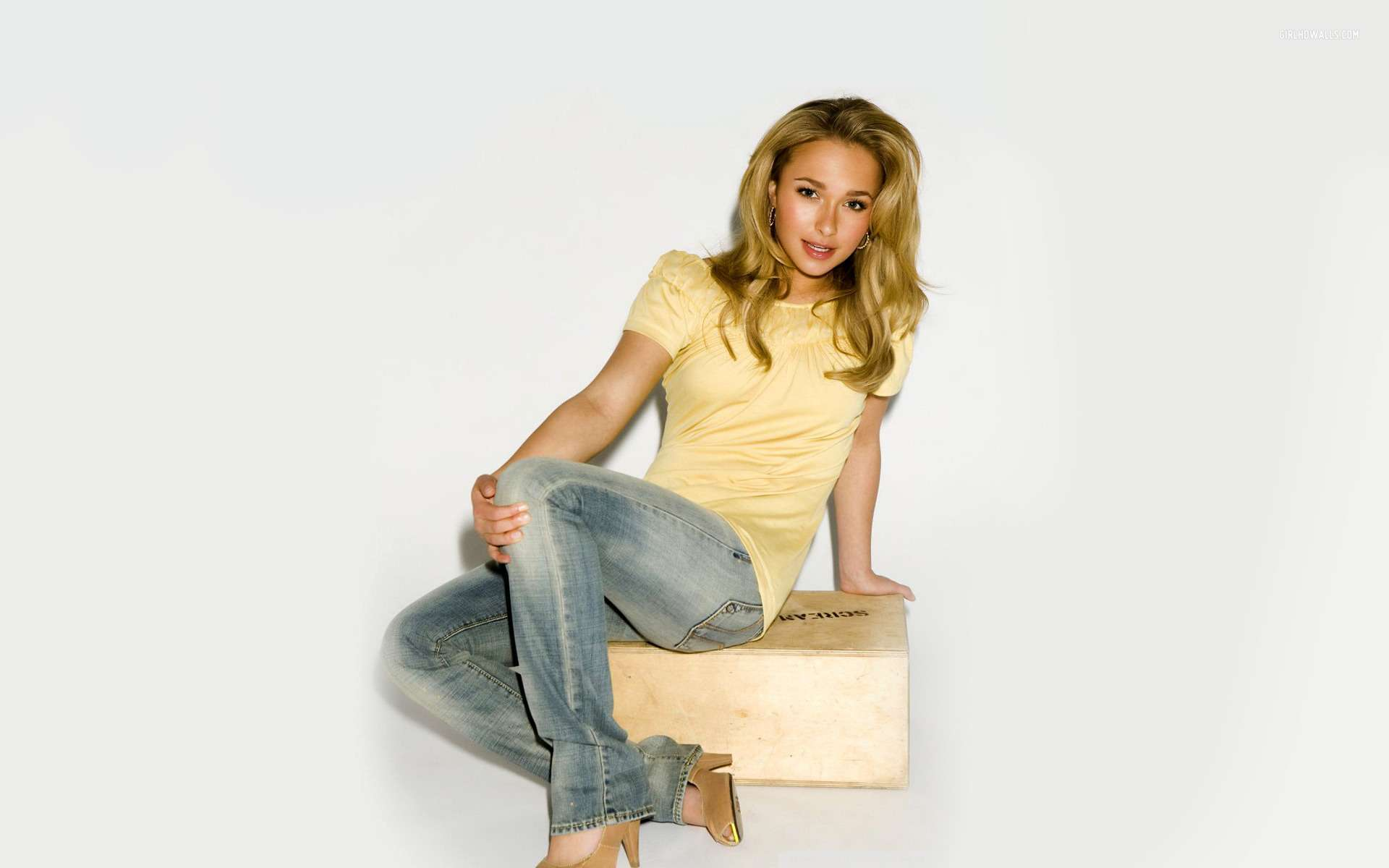 Most Beautiful Girl With Flowers Hd Wallpapers Hayden Panettiere 5 Hd Wallpapers